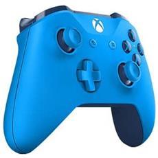Xbox Wireless Controller. Tipo Di Dispositivo: Gamepad, Piattaforme Di Gioco Supportate: Xbox, Tasti Funzione Per Il Controllo Del Gioco: D-pad, Menu. Tecnologia Di Connessione: Senza Fili. Colore Del Prodotto: Blu - Xbox One Blue Wire