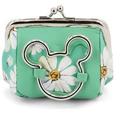 Mickey Mouse Portamonete Fashion Aqua