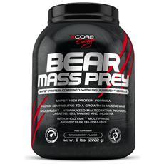 Bear Mass Prey 6lbs (2722g) Formula Più Avanzata Proteine Mhpb™ K-eazyme™-doppio Cioccolato