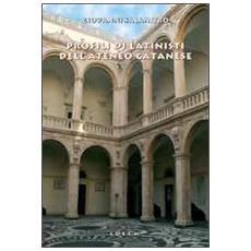 Profili di latinisti dell'ateneo catanese