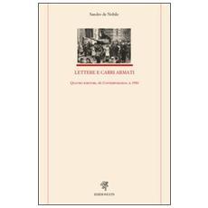 Lettere e carri armati. Quattro scrittori, «Il Contemporaneo», il 1956
