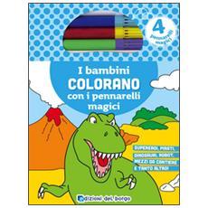 Bambini Colorano Con I Pennarelli Magici (I)