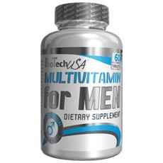Multivitaminico Da Uomo 60 Compresse - Biotech Usa - (multi) Vitamins-