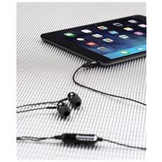 00053961 Auricolare Stereofonico Cablato Nero auricolare per telefono cellulare