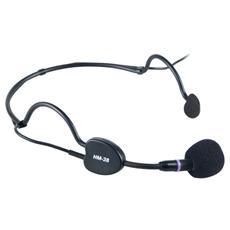 HCM38SE headset condensatore con supporto a cuffia leggero e robusto che offre una ripresa di alta qualità Ideale per cantanti presentatori istruttori di aerobica