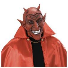 Maschera Diavolo Rosso Sorridente