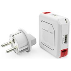 Power USB HUB bianco