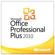 Office 2010 Professional Plus 32/64 Bit Esd Licenza Elettronica