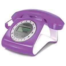 Telefono Sirio Classico con filo colore Lilla