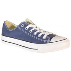 All Star Ct Scarpe Sneakers Basse Low Blu Navy Tela M9697c 41,5