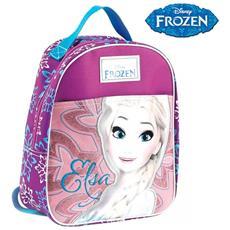 Zainetto Frozen Elsa Disney Asilo Scuola Bambine Tempo Libero Colore Rosa