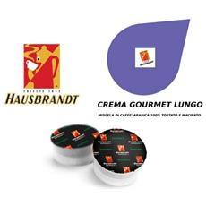 Capsule Hausbrandt Crema Gourmet Lungo 100% Arabica Confezione 10pz.