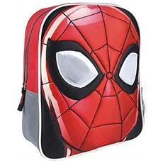 Zainetto Bambino Personaje Spiderman Zainetto Per Bambini, 31 Cm, Rosso (rojo)