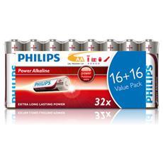 Power Alkaline Batteria LR6P32FV / 10