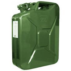 Tanica in metallo 20 Lt certificata per carburante infiammabile