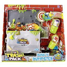 Trash Pack Cassonetto della Spazzatura con Due Mostri-Immondizia