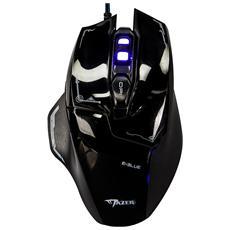 ICMG642B - Mouse Gaming USB 2500dpi 6 Tasti Nero Mazer M642 EMS642BKAA-IU