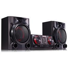 Sistema Hi-FiCJ65 Auto DJ da 900 W con 2 speaker
