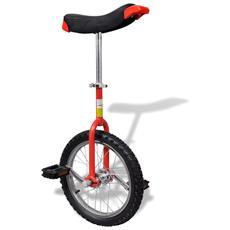 Monociclo Regolabile Rosso 16 Inch / 40,7 Cm