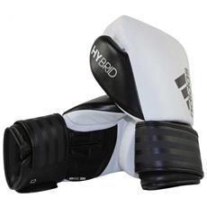 Guantoni Hybrid 200 In Pelle White / black 10 Oz Adidas