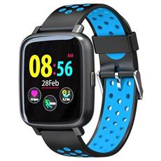 Smartwatch Sn12 Water Resist Ip68 Activity Tracker Fitness Cardio Pedometro Calorie Notifiche Blu