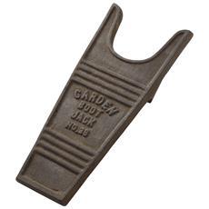 Togli Stivale In Metallo Marrone Anticato (taglia Unica) (marrone Rustico)