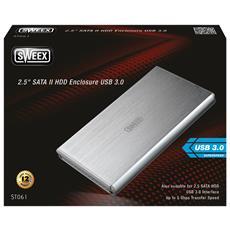 """2.5"""" SATA II HDD Enclosure USB 3.0"""