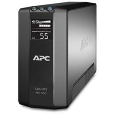 Gruppo di Continuità UPS 500VA / 330W Back-UPS Pro 6 Prese IEC (C13) / RJ11 / usb AVR VI