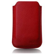 Custodia In Pelle Per Iphone 4 E Ipod Touch - Colore Rosso