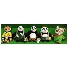 Kung Fu Panda 3 - Peluche 18 Cm (Assortimento)