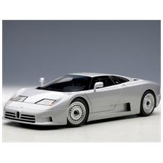Aa70979 Bugatti Eb110 Gt 1995 Silver 1:18 Modellino