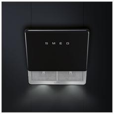 SMEG - Cappa KFAB75BL Montabile a Parete da 75 cm Filtrante Colore Nero 2ecafaf2862c