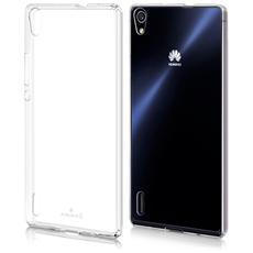 Cover Ultra Fina Trasparente Morbida In Air Gel Per Huawei Ascend P7
