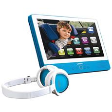 Tablet Touchscreen 9 Pollici con Lettore DVD TDV-900 Colore Azzurro