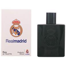 Profumo Uomo Real Madrid Black Sporting Brands Edt 100 Ml