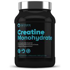 Creatina Monoidrato 1000g - Okygen Sports - Creatine Monohydrate -