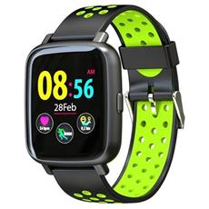 Smartwatch Sn12 Water Resist Ip68 Activity Tracker Fitness Cardio Pedometro Calorie Notifiche Green
