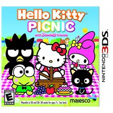 N3DS - Hello Kitty Picnic