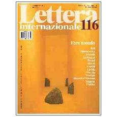 Vol. 116: Fare mondo.