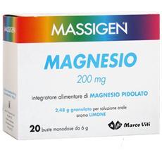 Magnesio Pidolato 200mg 20 Buste