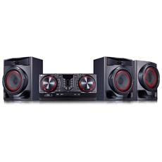 Sistema Mini Hi-Fi CJ45 Potenza 720W Bluetooth USB