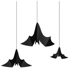 3 Pipistrelli Da Appendere Taglia Unica
