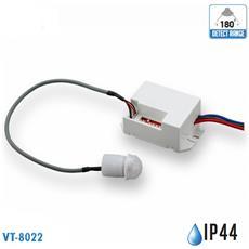Sensore Di Movimento A Infrarossi Ip20 Interno Vt-8022 5082