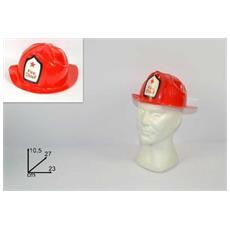 Cappello Pompiere Rosso