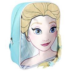 Zainetto Bambino Personaje Frozen Zainetto Per Bambini, 31 Cm, Blu (azul)