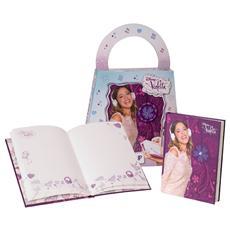Diario Segreto con Luci Violetta Gift