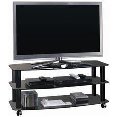 Mobile Tv Metallo E Vetro Fino 42
