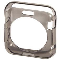 Cover protettiva per Apple Watch da 38mm - Trasparente / Nero