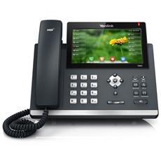 SIP-T48G Telefono VoIP con porte Gigabit