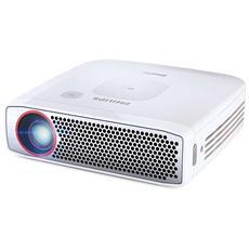 Proiettore PicoPix PPX4835 DLP HD Ready 350 ANSI lm Rapporto di Contrasto 100000:1 HDMI Power Bank USB